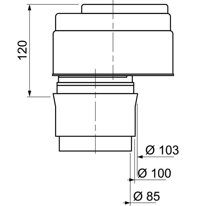 anti vide droit excentr pour tube 80 110 mm anti vide droit excentr pour tube 80 110. Black Bedroom Furniture Sets. Home Design Ideas