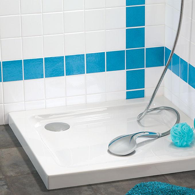 bonde extra plate bonde pour receveur de douche douche bondes wirquin. Black Bedroom Furniture Sets. Home Design Ideas