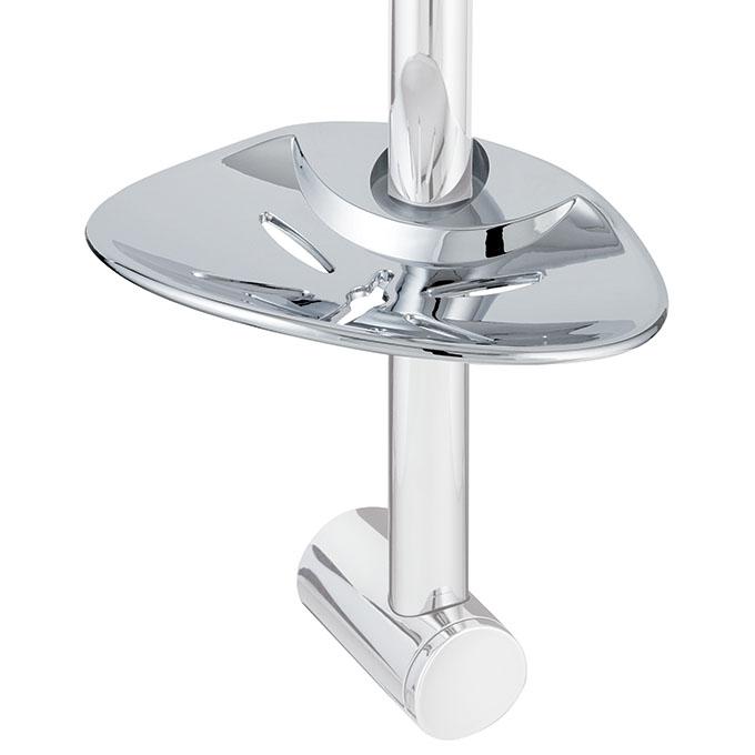 Grand porte savon 25 mm chrom douche accessoires - Porte savon douche suspendu ...