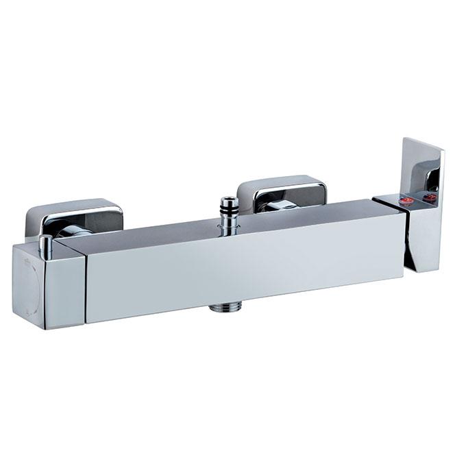 M canique carr mitigeur en laiton douche mitigeurs for Salle de bain 6 metre carre
