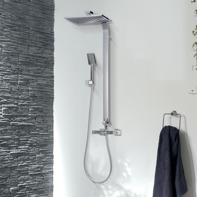 Palermo switch colonne de douche connecter sur - Installation colonne de douche hauteur ...