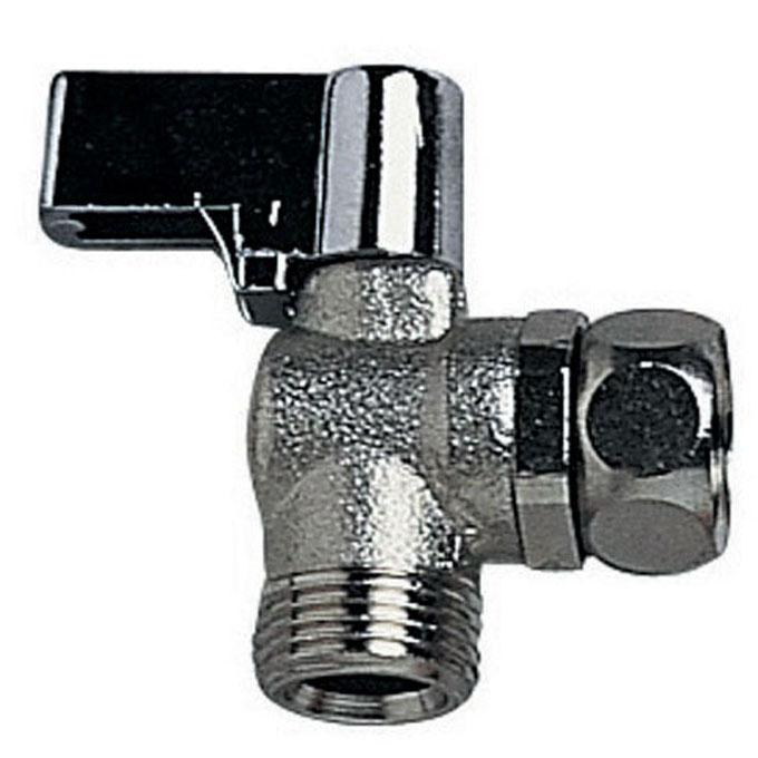 R29 robinet d 39 arr t querre 1 4 tour en laiton nickel chrom robinets d 39 arret wirquin - Robinet quart de tour ...