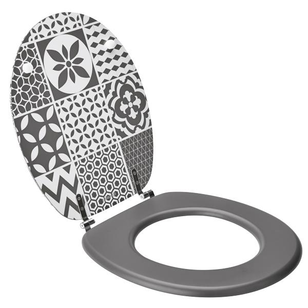 deco tiles mat abattants wc trendy line bois d co tiles. Black Bedroom Furniture Sets. Home Design Ideas