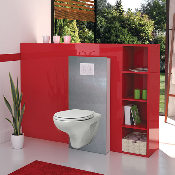 smart ruby pack complet wc suspendu autoportant sur murs porteurs wc suspendus pack. Black Bedroom Furniture Sets. Home Design Ideas