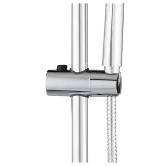 Curseur de barre 25 mm douche accessoires wirquin - Curseur barre de douche ...