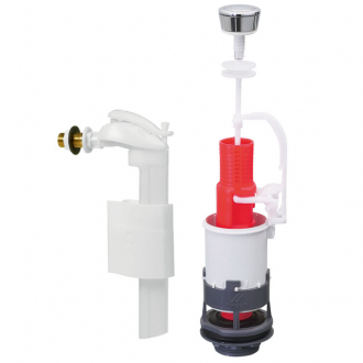 Mp90 m canisme de wc simple chasse commande m canique for Changer mecanisme chasse d eau