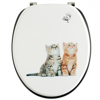 CHATONS, abattants wc trendy line bois
